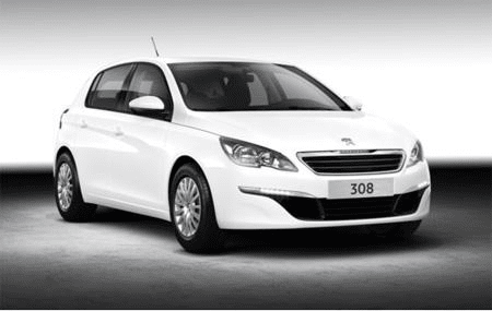 Peugeot 308 - Photo non contractuelle