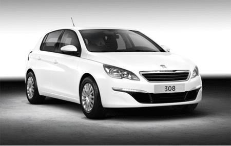 Peugeot 308 - Photo non contractuelle