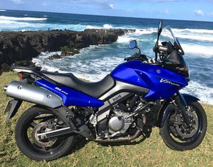 Motoloc OI Motocycle rentals - SUZUKI 650 V-STORM