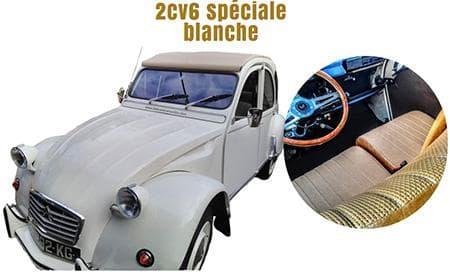 2 CV special white