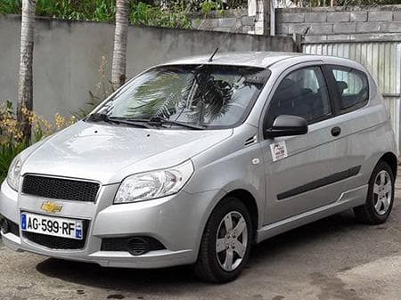 Chevrolet Aveo - Photo non contractuelle
