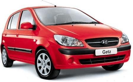 Hyundai Getz - Photo non contractuelle