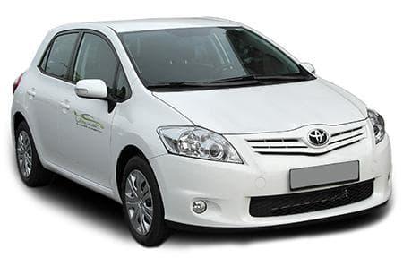 Toyota Auris - Photo non contractuelle